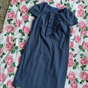 Blue dress by Ann Taylor